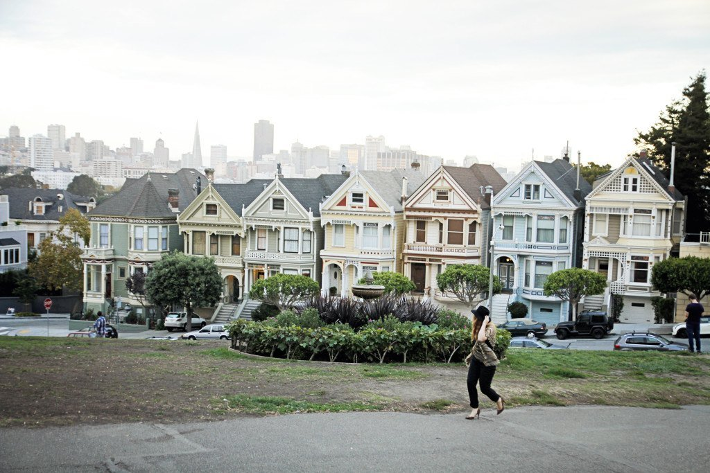 Evening Picnic At the Painted Ladies