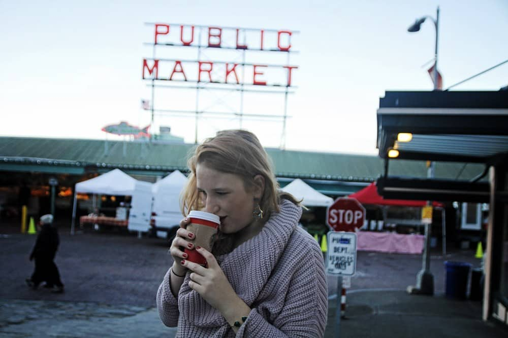 Original Starbucks in Pike Place Seattle