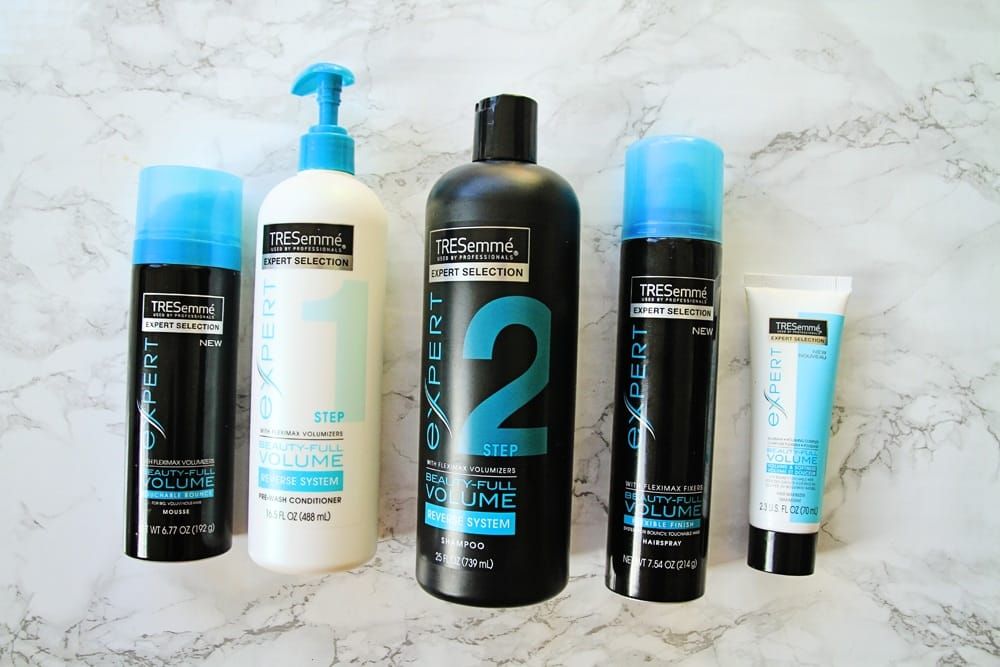 Tresemme reverse shampooing beauty hairstyle tips