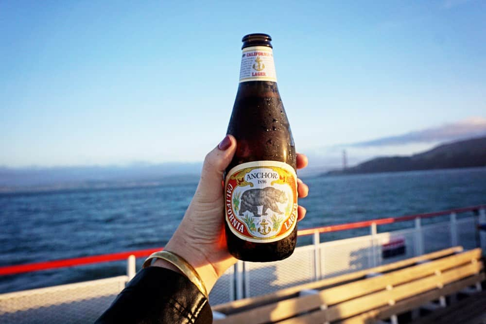anchor beer on cruise San Francisco