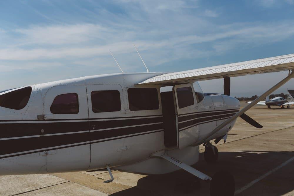 private plane tour San Francisco
