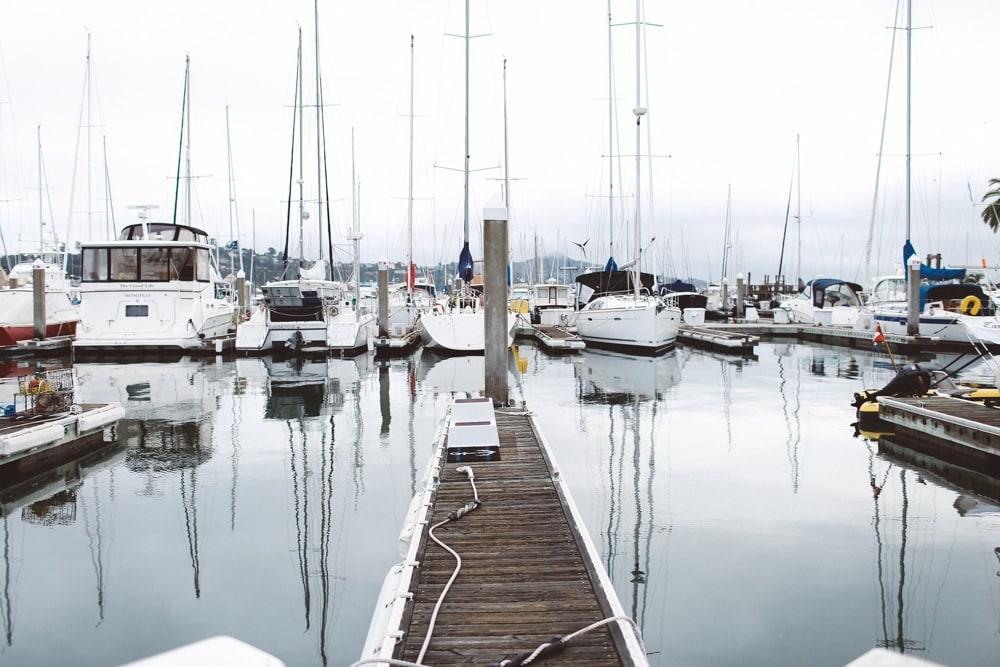 Sausalito docks