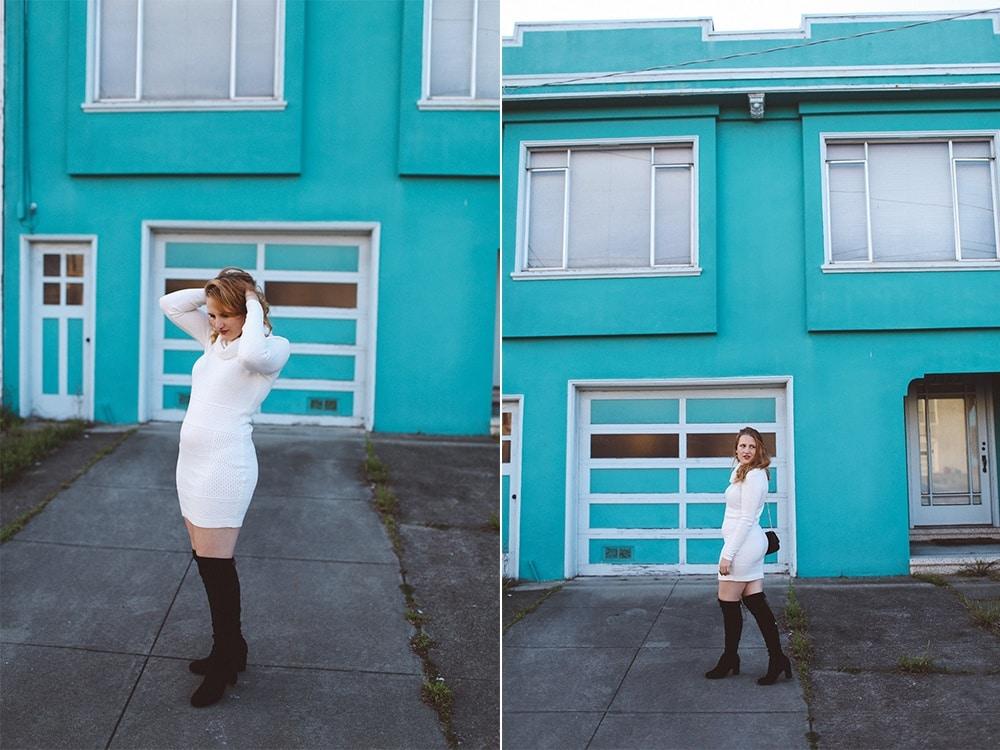 Sweater Dress Lana Archer