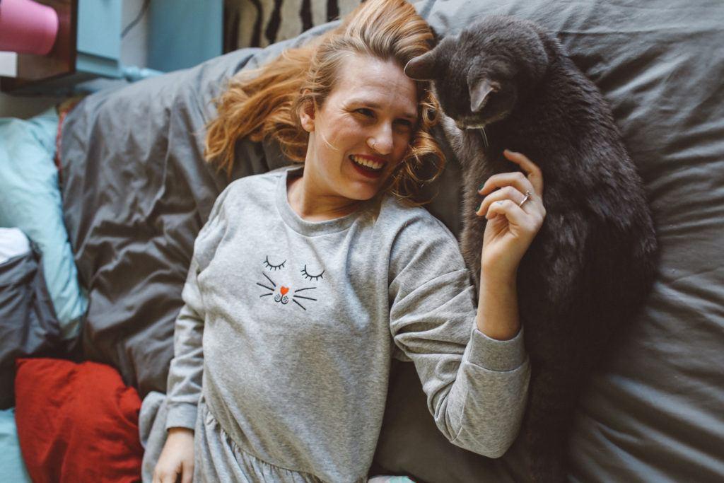 H&M Cat Sweater