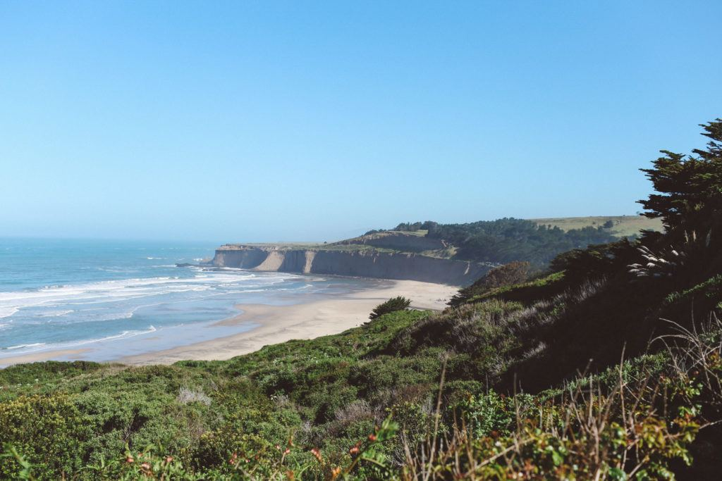 tunitas Beach, California