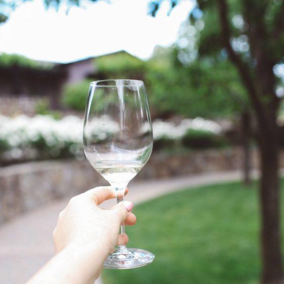 Freemark Abbey winery in Napa valley