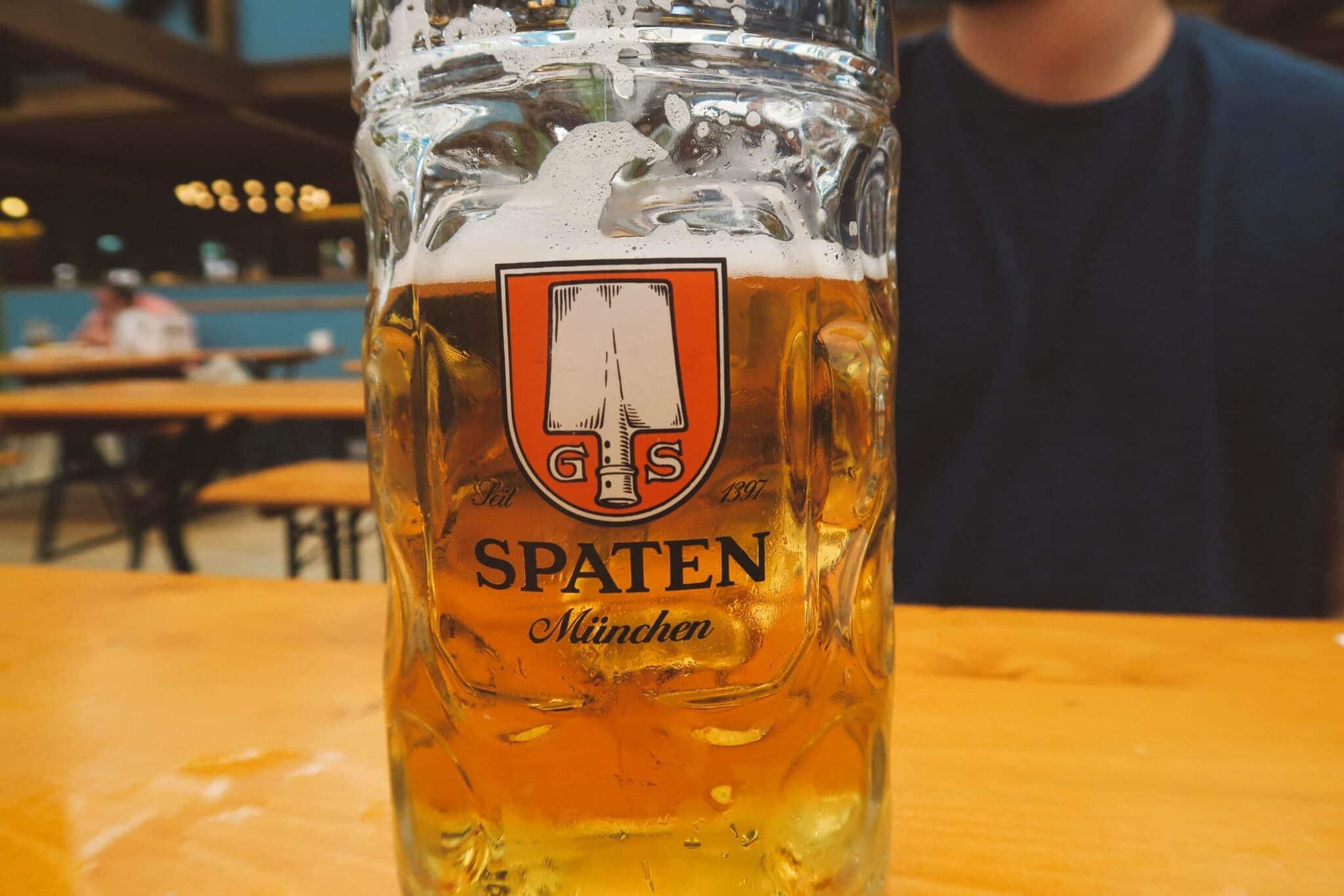 Oktoberfest Munich spaten bier