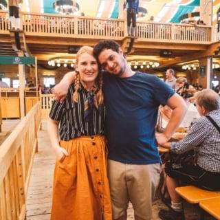 Oktoberfest Munich couple