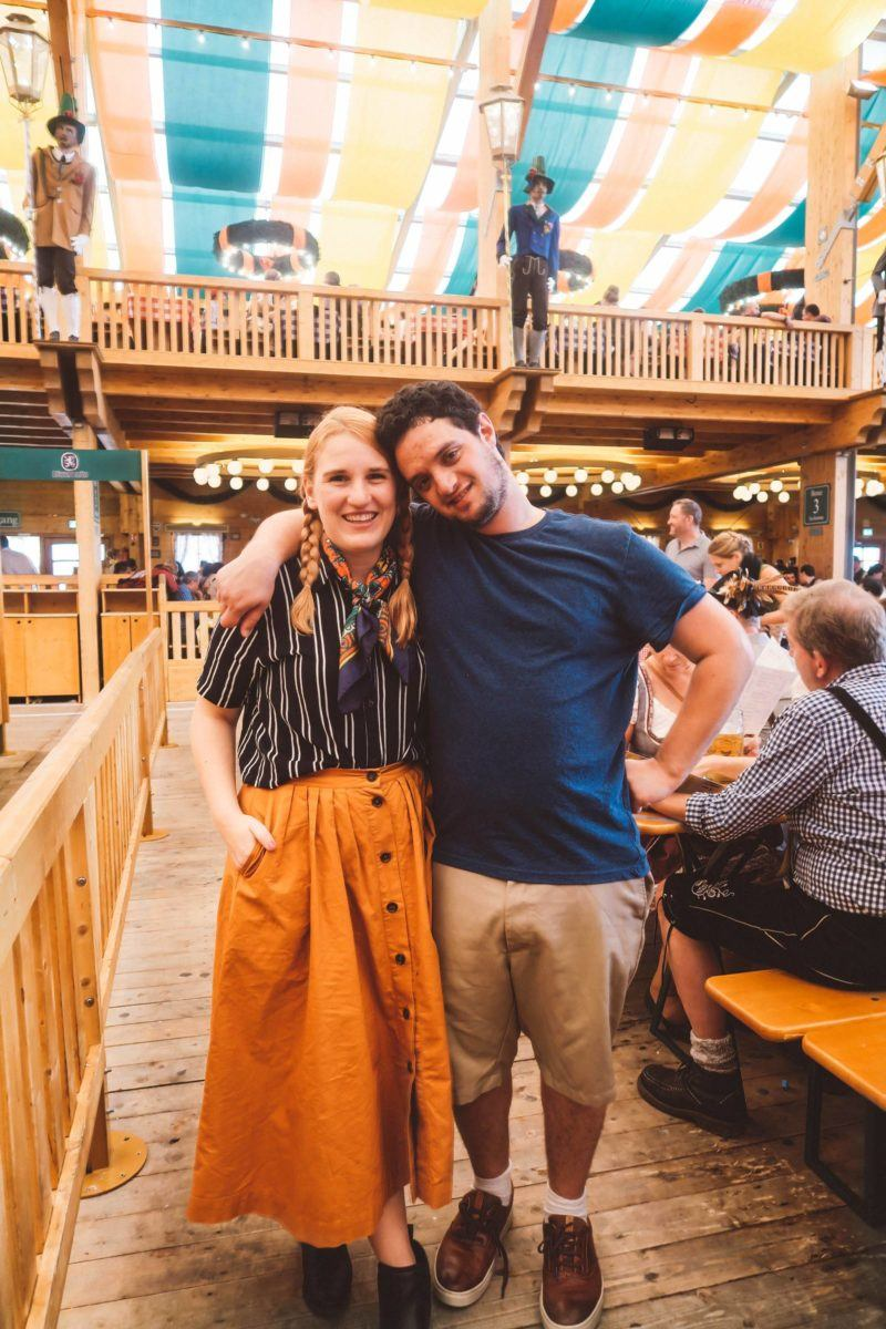 Oktoberfest Munich couple