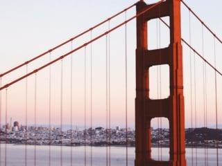 Gate Bridge San Francisco sunset