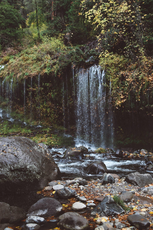 Mossbrae Falls Redding Waterfall