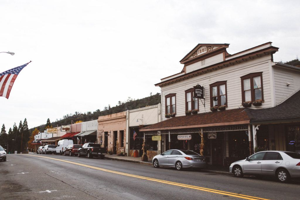 Mariposa, California – An Old Miners Town Outside Yosemite