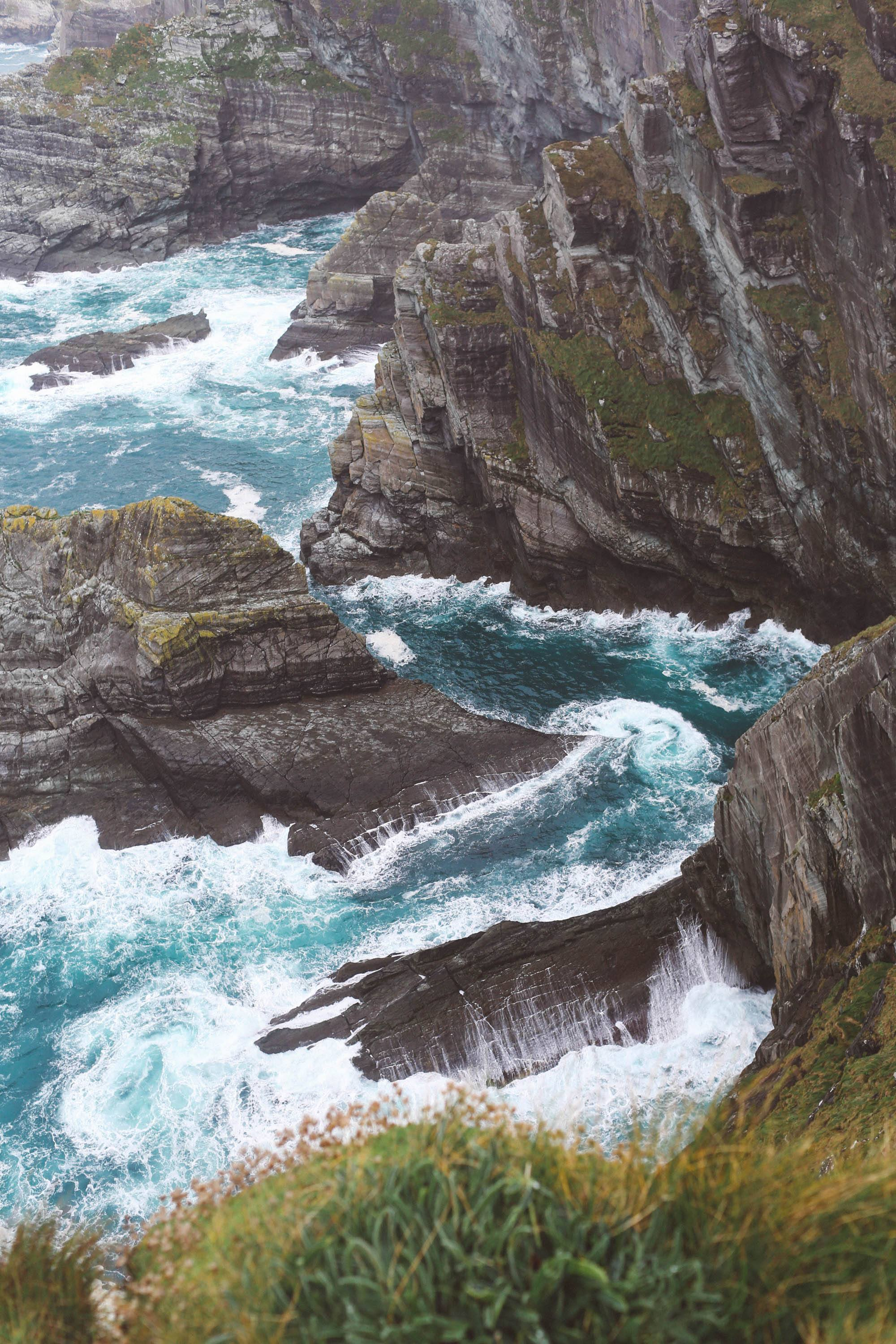 ring of kerry cliffs