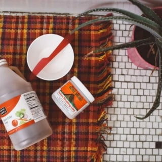 aztec healing clay mask review flatlay