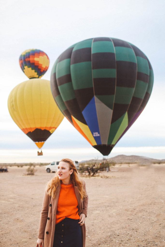 Our Hot Air Balloon Ride in Scottsdale, Arizona