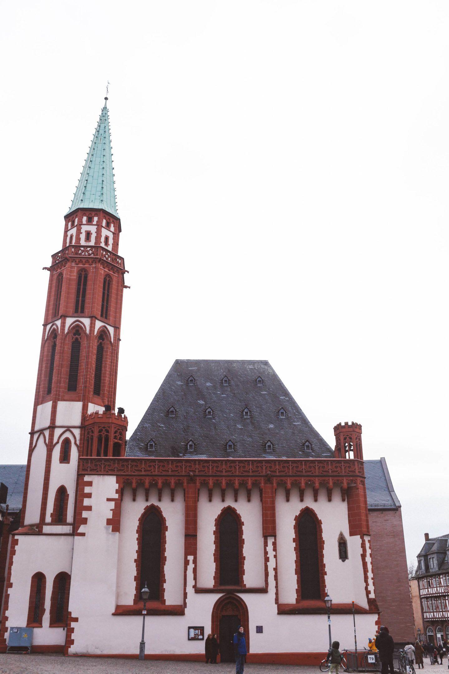 frankfurt germany romer church