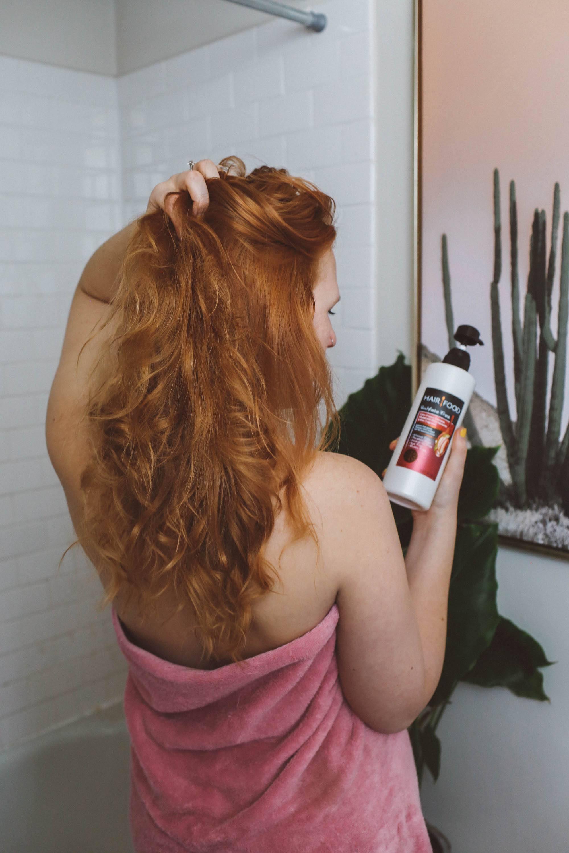 hair food natural shampoo beauty blog