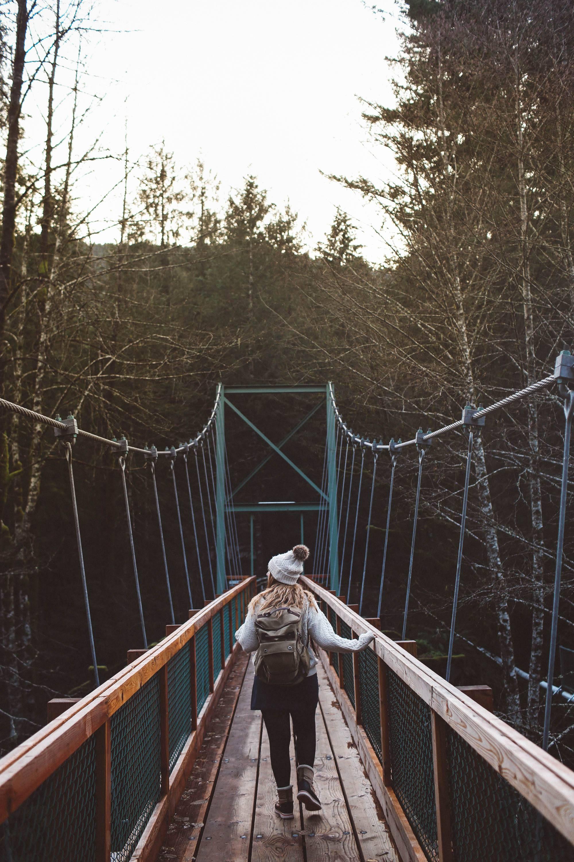 oregon rope swing bridge