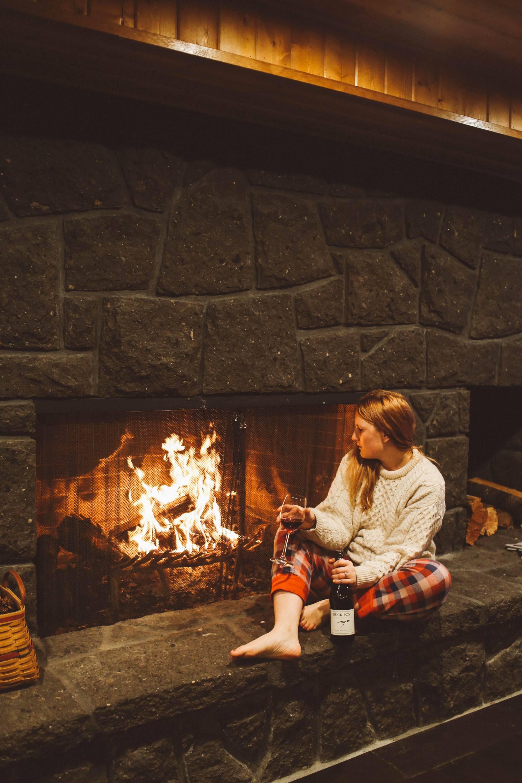 wonser woods oregon fireplace