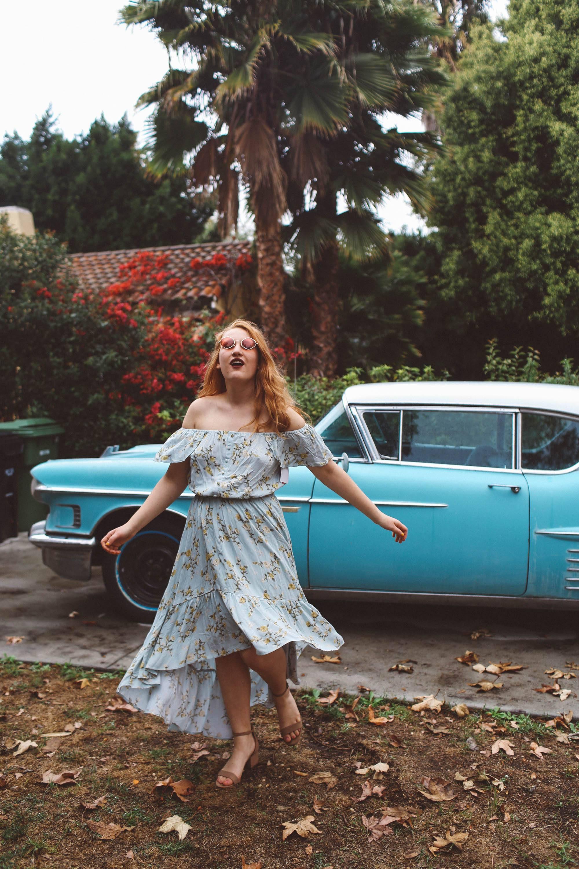 vintage car two-piece set idea LA