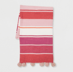 Woven Cotton Throw Blanket