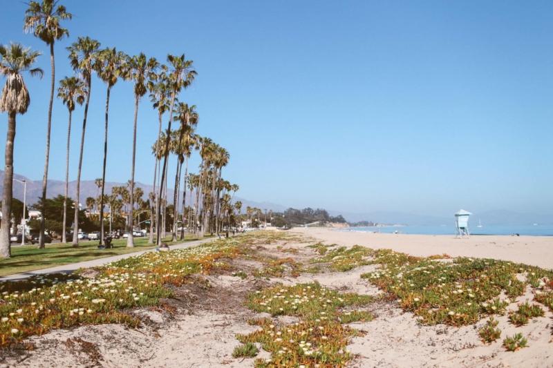 West Beach in Santa Barbara