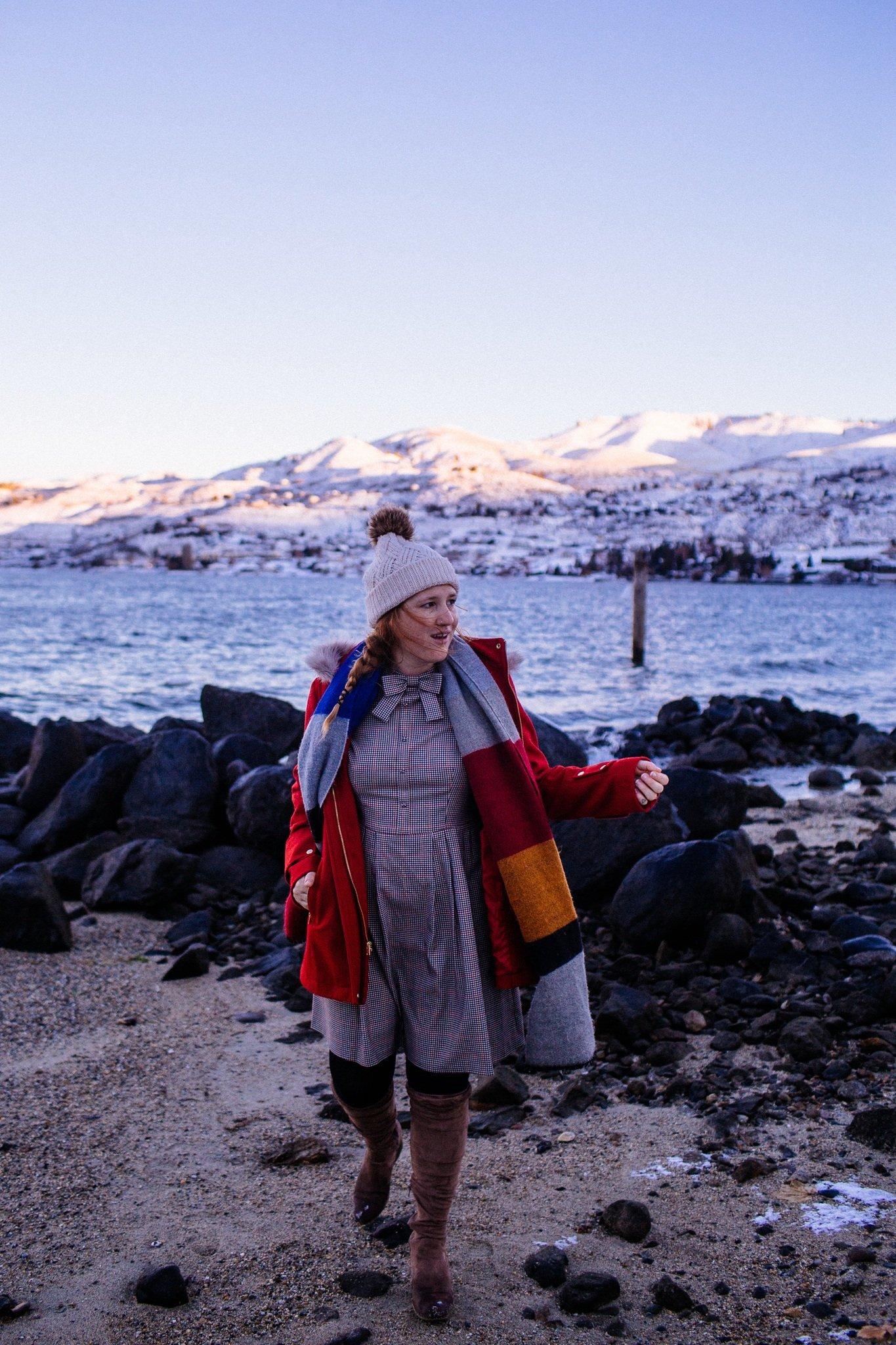 Woman at Lake Chelan