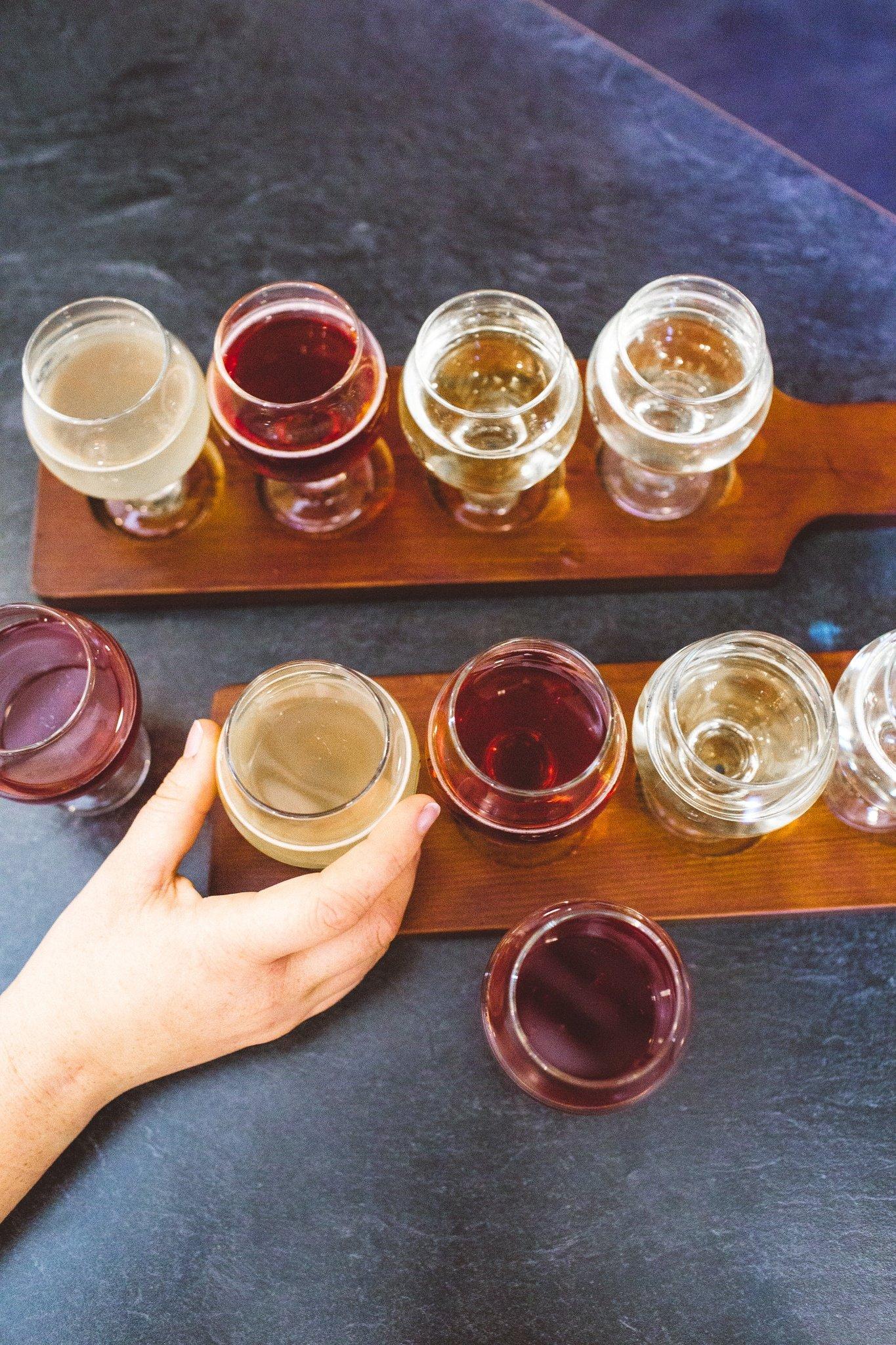 Cider at Steelhead Ciderhouse