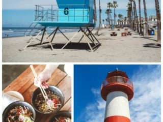 Food and fun sights in Oceanside, Ca