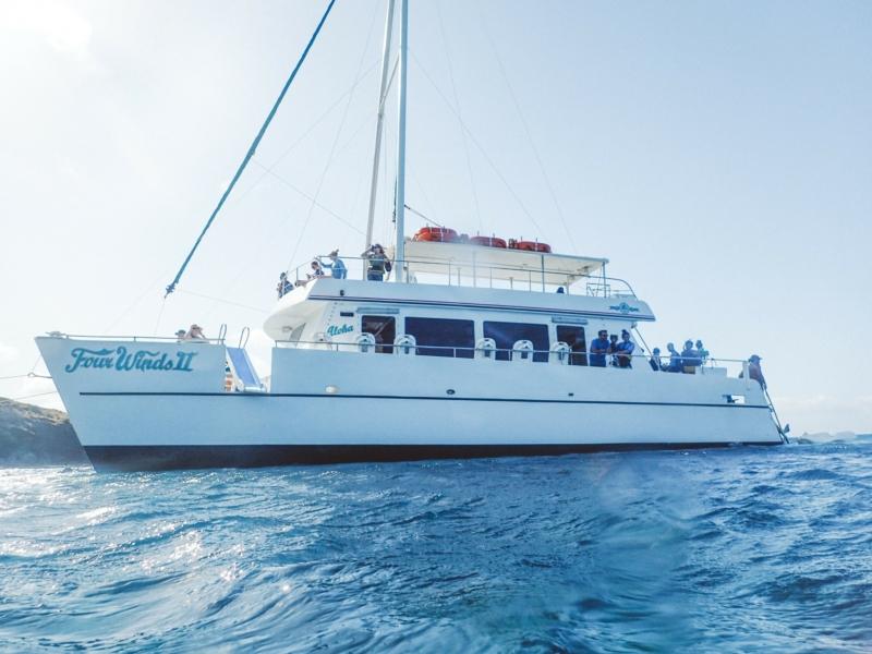 Snorkel Maui Hawaii Cruise boat
