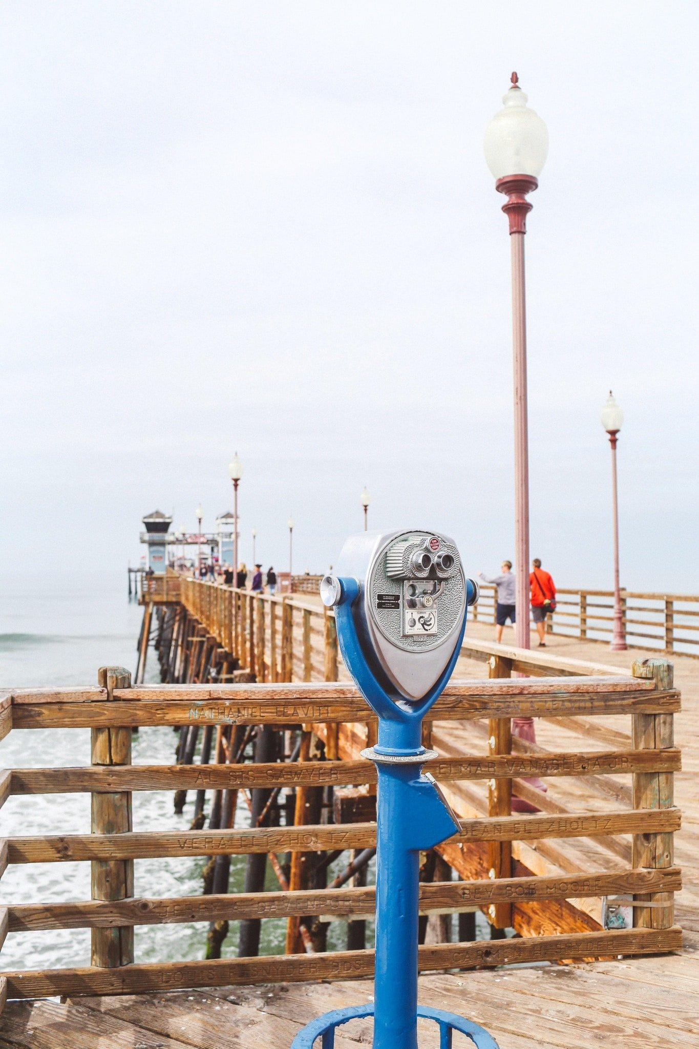 Pier in Oceanside, Ca