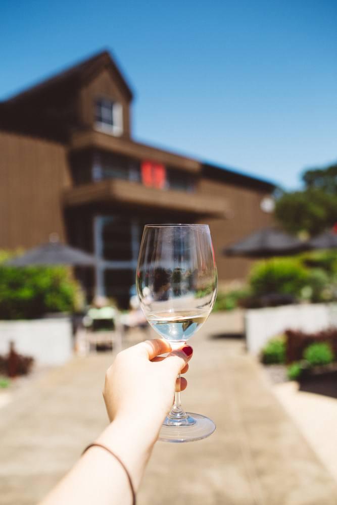 Wine at Roth estates