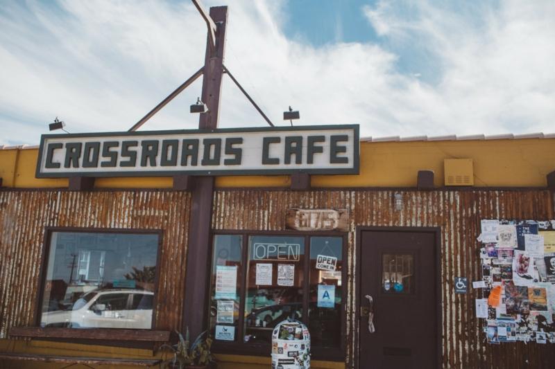 Crossroads Cafe in Joshua Tree California