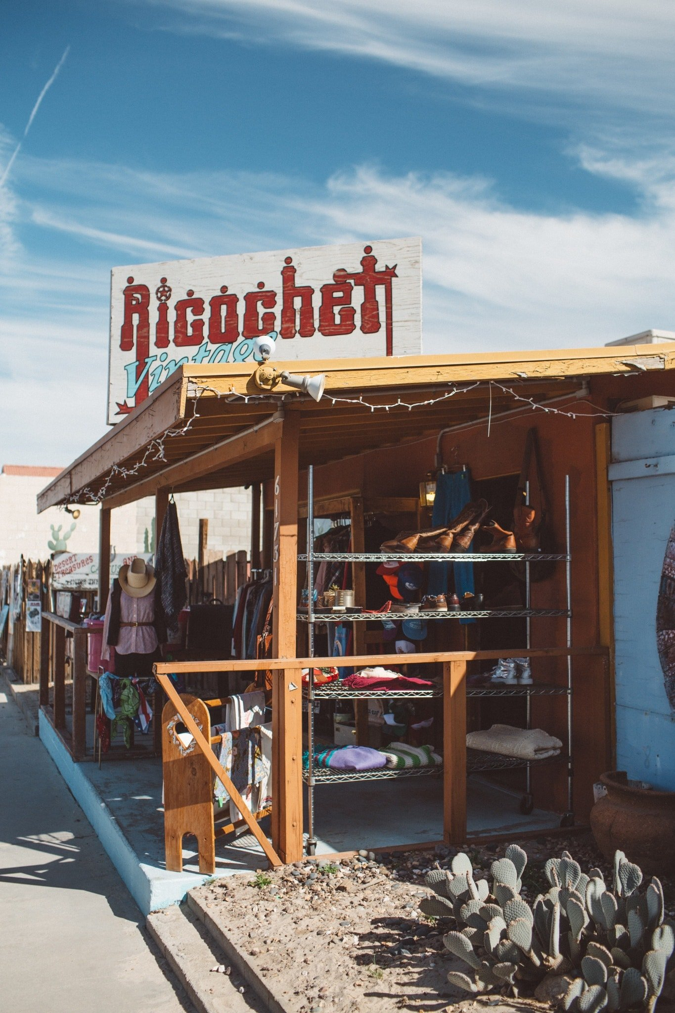 Small business in beautiful Joshua Tree California