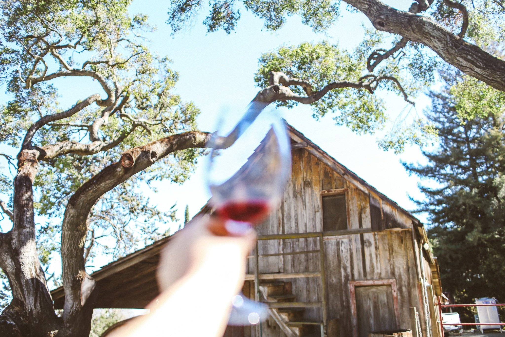 Ridge Winery in the Santa Cruz Mountains