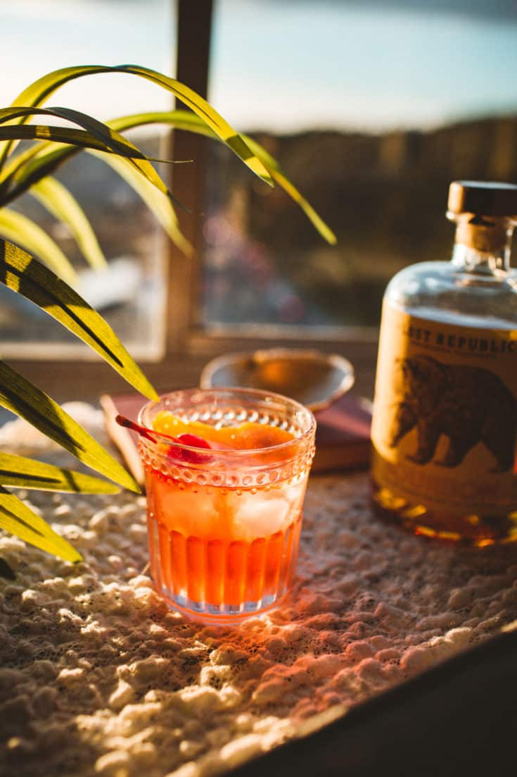 Wisconsin Old Fashioned Cocktail (With A California Twist!)