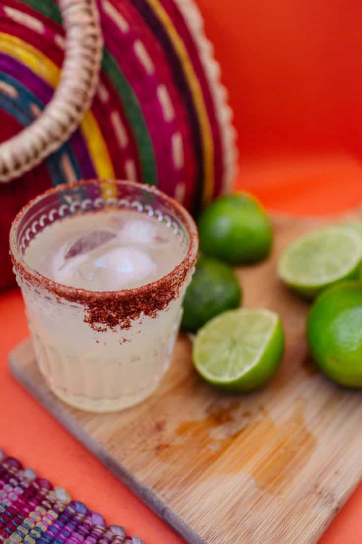 Easy Chili Salt Margarita Recipe (To Elevate Your Taco Tuesday Night!)