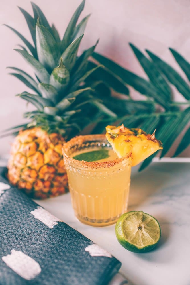 Refreshing Pineapple Coconut Margarita
