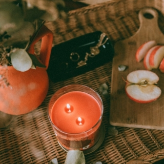 Opalhouse Harvest Apple Candle