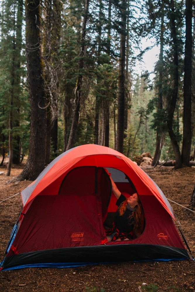 Tent Camping in Lassen Volcanic National Park