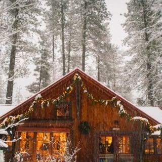 A-Frame cabin Airbnb in Leavenworth, Washington