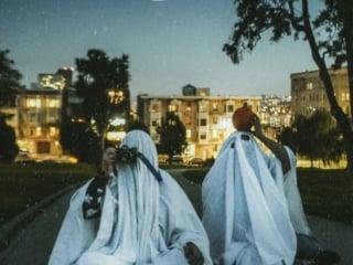 TikTok ghost trend photo shoot in San Francisco