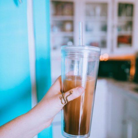 Easy Lavender Iced Coffee Recipe