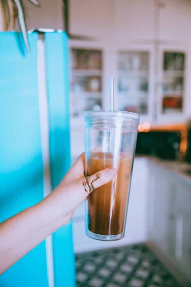 Easy Lavender Iced Coffee Recipe