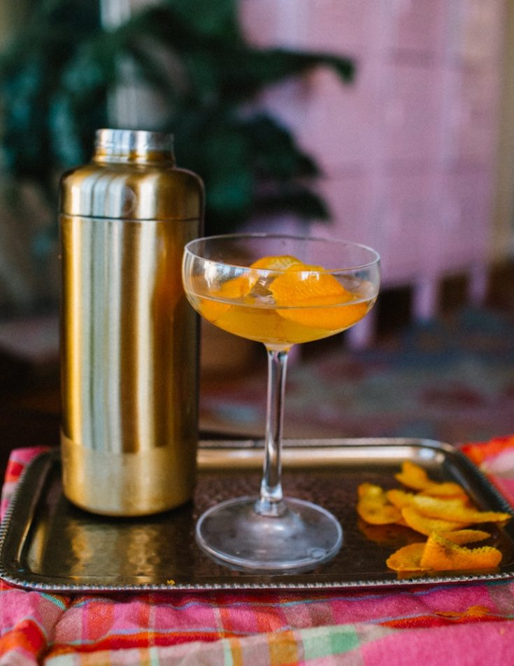 Flame Of Love Cocktail: A Star-Studded Martini Recipe