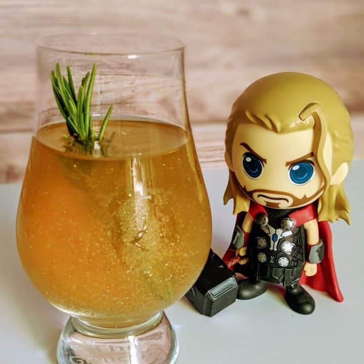 Bourbon'd With Glorious Purpose Loki Cocktail Recipe