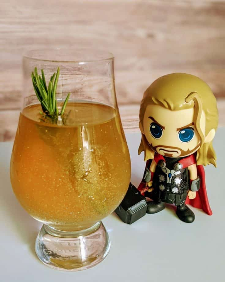 Bourbon'd With Glorious Purpose Loki Cocktail Recipe