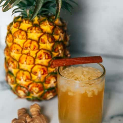 The Perfect Tepache Recipe: (Sweet & Fizzy Pineapple Beer!)