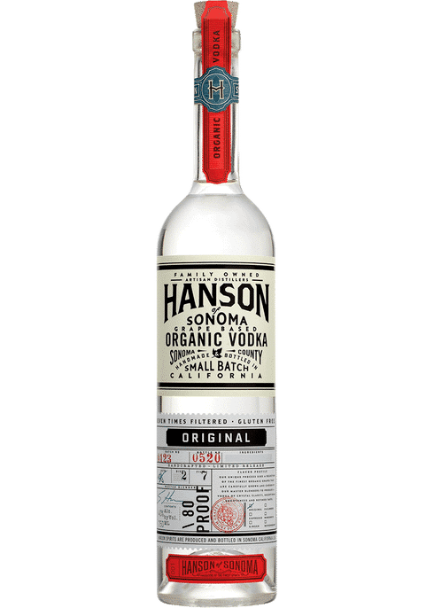 Hanson of Sonoma Original Vodka